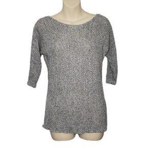 DYNAMITE grey pullover 3/4 sleeve sweater XS